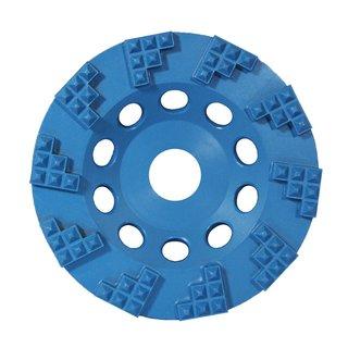 Schleifplatten Set PKD für Bodenschleifmaschine 4 Stück